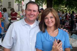 Mike Lee and wife Sharon