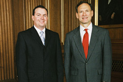 Mike Lee with Supreme Court Justice Samuel Alito